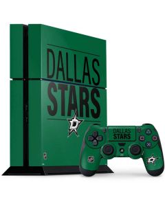 Dallas Stars Lineup PS4 Console and Controller Bundle Skin