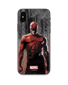 Daredevil Defender iPhone X Skin