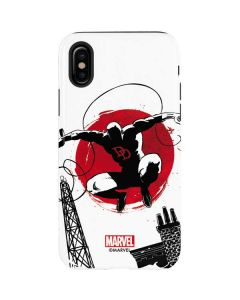Daredevil Jumps Into Action iPhone X Pro Case