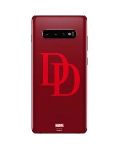 Daredevil Logo Galaxy S10 Plus Skin