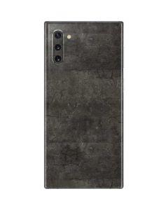 Dark Iron Grey Concrete Galaxy Note 10 Skin