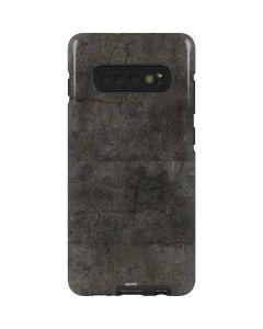 Dark Iron Grey Concrete Galaxy S10 Plus Pro Case