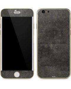 Dark Iron Grey Concrete iPhone 6/6s Skin