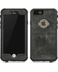 Dark Iron Grey Concrete iPhone 6/6s Waterproof Case