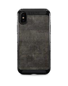 Dark Iron Grey Concrete iPhone XS Max Cargo Case