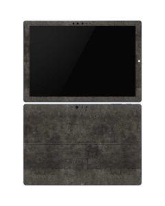Dark Iron Grey Concrete Surface Pro 6 Skin