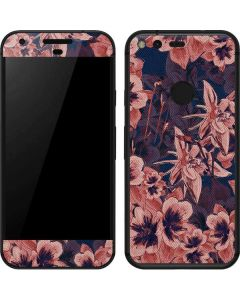 Dark Tapestry Floral Google Pixel Skin