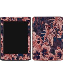 Dark Tapestry Floral Amazon Kindle Skin
