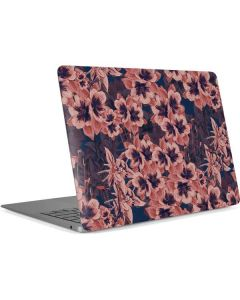 Dark Tapestry Floral Apple MacBook Air Skin