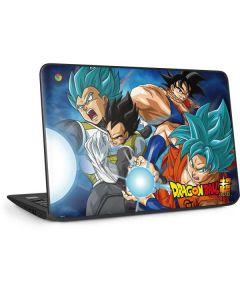 Goku Vegeta Super Ball HP Chromebook Skin