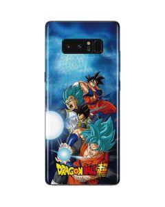 Goku Vegeta Super Ball Galaxy Note 8 Skin