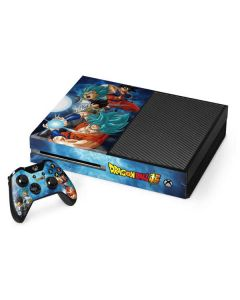Goku Vegeta Super Ball Xbox One Console and Controller Bundle Skin