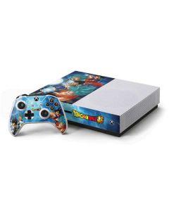 Goku Vegeta Super Ball Xbox One S Console and Controller Bundle Skin