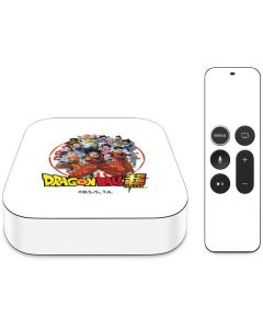 Dragon Ball Super Group Apple TV Skin