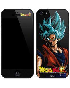Goku Dragon Ball Super iPhone 5/5s/SE Skin