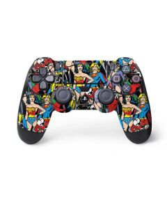 DC Bombshells All Over Print PS4 Controller Skin