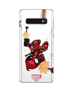 Deadpool Baby Fire Galaxy S10 Skin