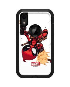 Deadpool Baby Fire Otterbox Defender iPhone Skin