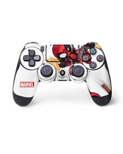 Deadpool Baby Fire PS4 Controller Skin