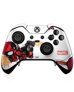 Deadpool Baby Fire Xbox One Elite Controller Skin