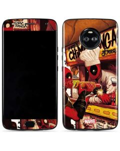 Deadpool Chimichangas Moto X4 Skin