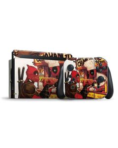 Deadpool Chimichangas Nintendo Switch Bundle Skin