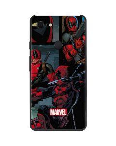 Deadpool Comic Google Pixel 3 XL Skin