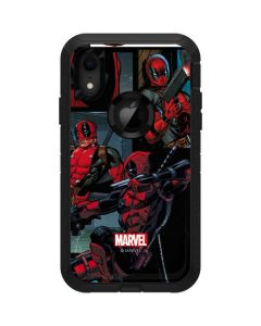 Deadpool Comic Otterbox Defender iPhone Skin