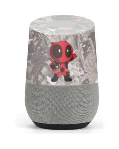 Deadpool Hello Google Home Skin