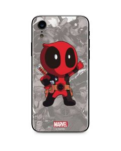 Deadpool Hello iPhone XR Skin