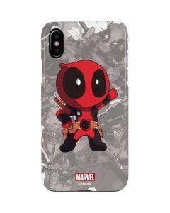 Deadpool Hello iPhone XS Max Lite Case