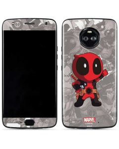 Deadpool Hello Moto X4 Skin