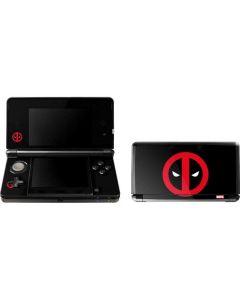 Deadpool Logo Black 3DS (2011) Skin