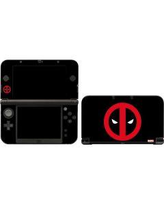 Deadpool Logo Black 3DS XL 2015 Skin