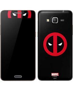 Deadpool Logo Black Galaxy Grand Prime Skin