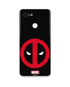 Deadpool Logo Black Google Pixel 3 Skin