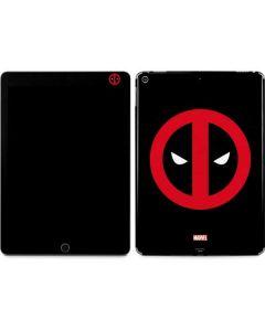 Deadpool Logo Black Apple iPad Air Skin