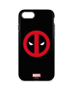 Deadpool Logo Black iPhone 7 Pro Case