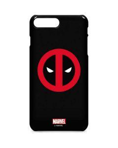 Deadpool Logo Black iPhone 8 Plus Lite Case