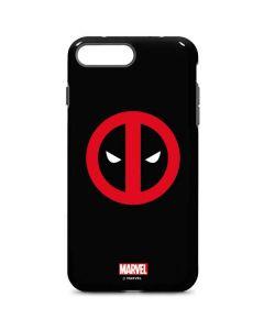 Deadpool Logo Black iPhone 8 Plus Pro Case