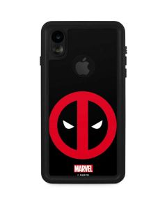 Deadpool Logo Black iPhone XR Waterproof Case