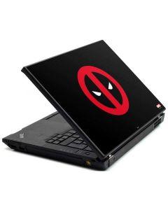 Deadpool Logo Black Lenovo T420 Skin