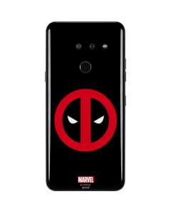 Deadpool Logo Black LG G8 ThinQ Skin