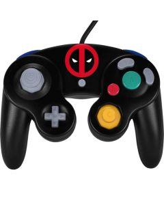 Deadpool Logo Black Nintendo GameCube Controller Skin