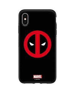 Deadpool Logo Black Otterbox Symmetry iPhone Skin