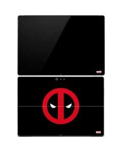 Deadpool Logo Black Surface Pro 4 Skin