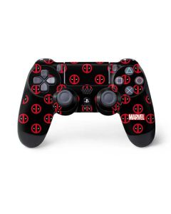 Deadpool Logo Print PS4 Controller Skin