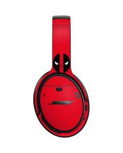 Deadpool Logo Red Bose QuietComfort 35 Headphones Skin