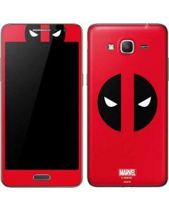 Deadpool Logo Red Galaxy Grand Prime Skin
