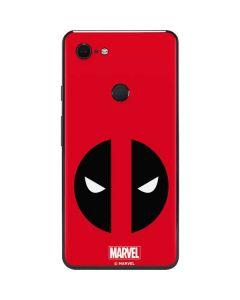 Deadpool Logo Red Google Pixel 3 XL Skin